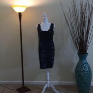 Classic sequin sheath